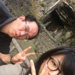 城崎温泉からの帰りに立ち寄った平日午後6時の「玄武洞公園」