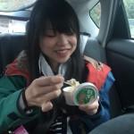 「フレッシュあさご」で「岩津ねぎアイス」に挑戦!!