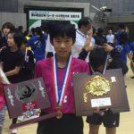 全日本バレーボール大会小学生大会で村岡ジュニアバレーボールクラブが3位に!