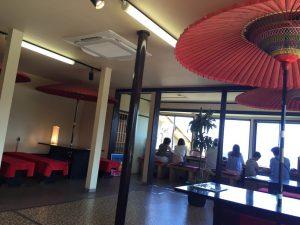 ロープウェイ山頂駅の茶屋
