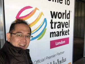 World travel marketにて
