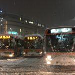 大雪の時はバスがおススメです~カニ旅行はぜひ直行バスで