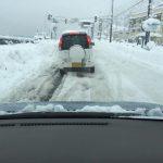 ガタガタの雪道で注意してほしいこと~ロデオになってしまう除雪路にご注意下さい