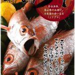 今年も5月に大盛況の予感。香住名物「キス場のノド」のどぐろパンフレットが登場!!