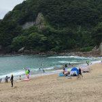 日本海の海水浴場では8月のいつまで海水浴ができますか?~佐津浜・竹野浜海水浴場の場合