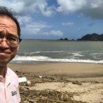 台風一過の佐津海水浴場♪~2017年台風18号直後の日本海の様子