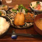 久しぶりに柴山みなと前食堂凪さんのお魚定食を食べました!