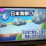 雪起こし?!冬の日本海は雷が多く、ブリやハタハタの季節到来も告げます