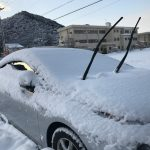 降雪時に車を駐車させた時、ワイパーを立てておいた方が良いの?