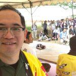 今年も奇跡が起こった?!初夏!ジオパークで食べるイカソーメン早食い大会、降雨なく無事開催しました♪
