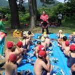 今年も自然学校のスノーケリング体験を佐津海水浴場にて実施しました♪