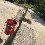 佐津海水浴場、ゴミ捨てと喫煙は所定の場所でお願いします!