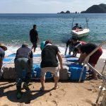 ご安心下さい☆海岸清掃で美しい佐津海水浴場が戻っています♪