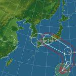 台風12号が近づいていますが、週末日本海側への旅行、現時点では大丈夫と判断しています