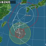 台風24号に伴い、明後日9月30日は臨時休館とさせていただきます!