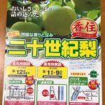 今年もJA香住支店さんで香住の二十世紀梨をお得に購入できます!!