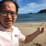 """台風25号が来る直前、""""嵐の前の静けさ""""を持っていた佐津海水浴場の様子"""