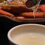 ゆでガニを食べる時にカニ酢は必要か否か問題(香住ガニでも松葉ガニでも)