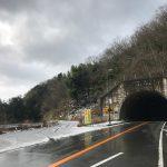 豊岡ー香住(佐津)間の国道178号線沿いで雪が心配なのは江野トンネルと土生トンネル、2つの峠越え