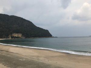 佐津海水浴場西側