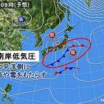 3月上旬の日本海側の降雪傾向について〜「南岸低気圧」という言葉に留意して下さい