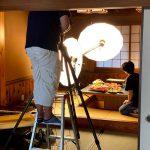 5月下旬は香住ガニと活イカが同時に撮影できるタイミング。プロカメラマンさんに撮影をお願いしました