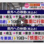 都道府県をまたぐ移動(旅行)が自粛解除になりました!