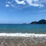 梅雨の雨続きの合間の晴れ空を狙って佐津海水浴場を撮影♪