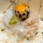 「香住丼」の中でも佐津地域限定名物、今年もシメの「イカ丼」が好評です♪