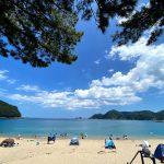2021年夏、但馬海岸(兵庫県北部)の海水浴場の開設・閉鎖状況について
