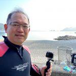 べた凪&快晴、透明度の良すぎる佐津海水浴場にダイビングで潜りました