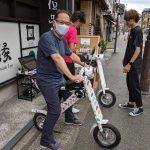 城崎温泉で話題のたびぞうEVバイクに乗ってみた!