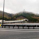 【注意】但馬空港インターチェンジはトンネルを抜けるといきなり出口です!