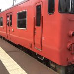 地方の単線列車は遅延が生じることがよくありますのでご注意下さい!!