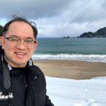 海雪ではなく海の雪景色を佐津海水浴場からご紹介します