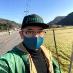 土生トンネルから佐津まで。国県道のゴミ拾いで春の訪れを感じました