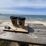 鳥取県岩美町浦富海岸で立ち寄った燕珈琲移動カフェがとても美味しかった件