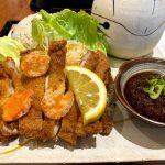 舞鶴道西紀サービスエリアの丹波路野菜食堂にて恐竜プレートを食べてきました!!
