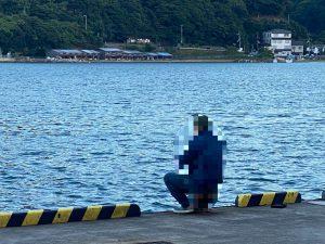柴山港で釣り