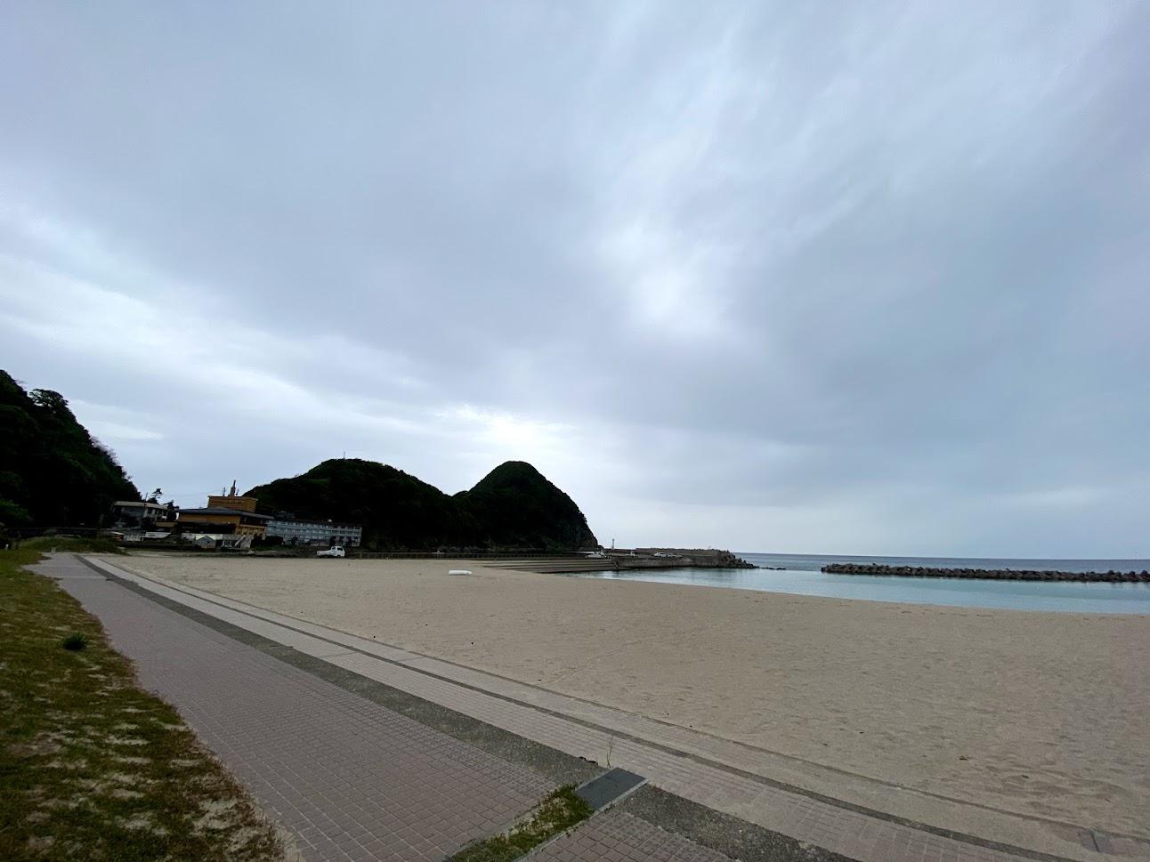 竹野浜と猫崎半島