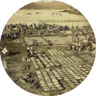 昭和初期の香住港